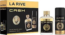 Perfumería y cosmética La Rive Cash - Set (eau de toilette/100ml + desodorante/150ml)