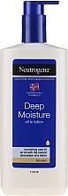 Perfumería y cosmética Aceite corporal cremoso con glicerina - Neutrogena Deep Moisture Creamy Oil
