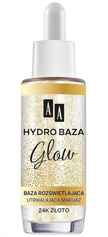 Prebase de maquillaje con oro de 24k - AA Hydro Baza Glow