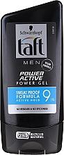 Perfumería y cosmética Gel para cabello con aceite de ricino - Schwarzkopf Taft Looks Power Active Gel