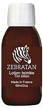 Perfumería y cosmética Loción para rostro y cuerpo tonificante para vitiligo - Zebratan Tint Lotion (Marron Moyen)