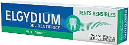Perfumería y cosmética Pasta dental en gel para dientes sensibles - Elgydium Sensitive Teeth Toothpaste Gel
