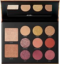 Perfumería y cosmética Paleta de maquillaje - Milani Gilded Ember Hyper-Pigmented Eye & Face Palette