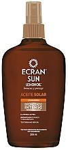 Perfumería y cosmética Aceite bronceador con protección solar - Ecran Sun Lemonoil Intensive Tanning Oil Spf2