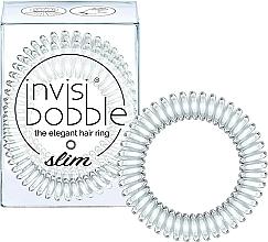 Perfumería y cosmética Coletero espiral - Invisibobble Slim Crystal Clear