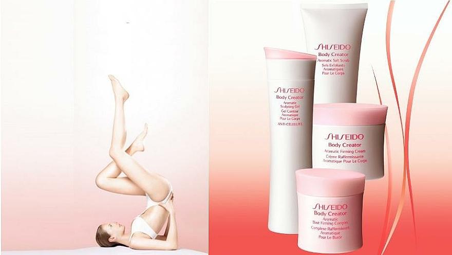 Crema con aporte de firmeza, resistencia y luminosidad al escote y cuello - Shiseido Body Creator Aromatic Bust Firming Complex — imagen N4