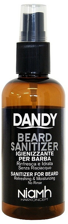 Spray desinfectante para barbas y bigotes - Niamh Hairconcept Dandy Beard Sanitizer Refreshing & Moisturizing