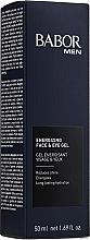 Perfumería y cosmética Gel energizante para rostro y ojos con proteína de arroz - Babor Men Energizing Face & Eye Gel