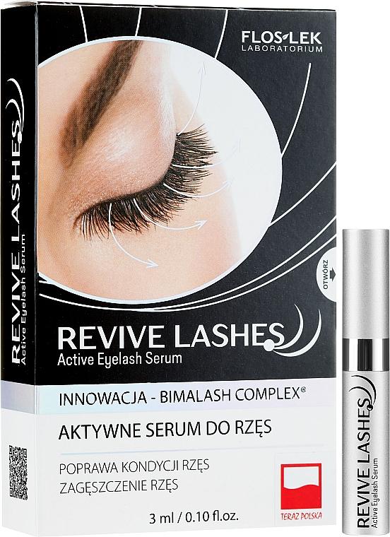 Sérum de pestañas regenerador con bimatoprost - Floslek Revive Lashes Eyelash Enhancing Serum