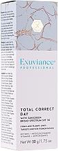 Perfumería y cosmética Crema para rostro y cuello con extracto de café y aceite de rosa damascena SPF30 - Exuviance Professional Total Correct Day SPF 30