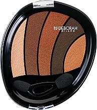 Perfumería y cosmética Paleta de sombras de ojos - Deborah Perfect Smokey Eye Palette