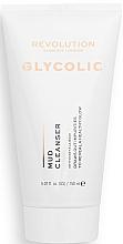 Perfumería y cosmética Tratamiento de barro para limpieza facial con ácido glicólico - Revolution Skincare Glycolic Acid AHA Glow Mud Cleanser