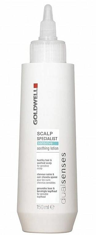 Loción capilar calmante con extracto de flor de tilo para cuero cabelludo sensible - Goldwell DualSenses Scalp Specialist Sensitive Soothing Lotion