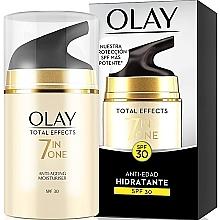 Perfumería y cosmética Crema facial hidratante antiedad - Olay Total Effects Anti-Aging Hidratante SPF30