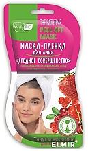 Perfumería y cosmética Mascarilla facial exfoliante con extracto de fresa y arándano - NaturaList