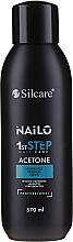 Perfumería y cosmética Removedor de esmalte en gel - Silcare Nailo Aceton