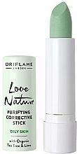 Perfumería y cosmética Corrector antibacteriano con extractos orgánicos de árbol de té - Oriflame Love Nature