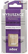 Perfumería y cosmética Secante de uñas - Ados Fast Dry Top Coat