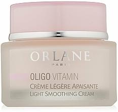 Perfumería y cosmética Crema facial ligera hipoalergénica con oligometales y vitaminas - Orlane Oligo Vitamin Light Smoothing Cream