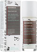 Perfumería y cosmética Desodorante antitranspirante roll-on para pieles sensibles, sin alcohol - Korres 48h Deodorant