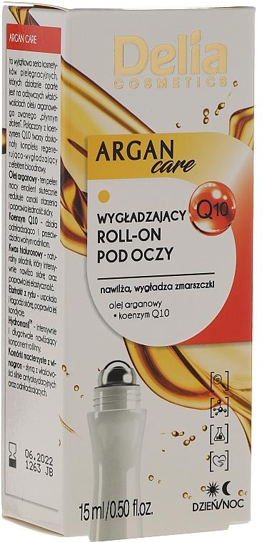 Roll-on contorno de ojos con aceite de argán - Delia Argan Care Under Eye Roll-On Wrinkles Smoother