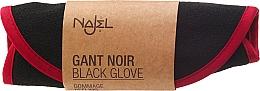 Perfumería y cosmética Guante exfoliante eliminador de células muertas - Najel Black Kassa