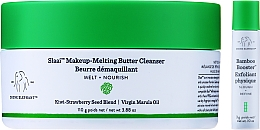 Perfumería y cosmética Manteca desmaquillante nutritiva con aceite de marula - Drunk Elephant Slaai Makeup-Melting Butter Cleanser (cleanser/110g + booster/3g)