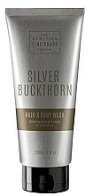Perfumería y cosmética Champú y gel de ducha con extracto de espino orgánico - Scottish Fine Soaps Silver Buckthorn Hair & Body Wash