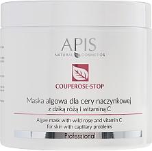Perfumería y cosmética Mascarilla facial con algas, extracto de rosa mosqueta y vitamina C - APIS Professional Algae Mask