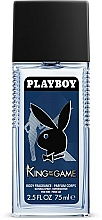 Perfumería y cosmética Playboy King Of The Game - Desodorante perfumado