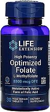 Perfumería y cosmética Complemento alimenticio folato optimizado - Life Extensions Optimized Folate