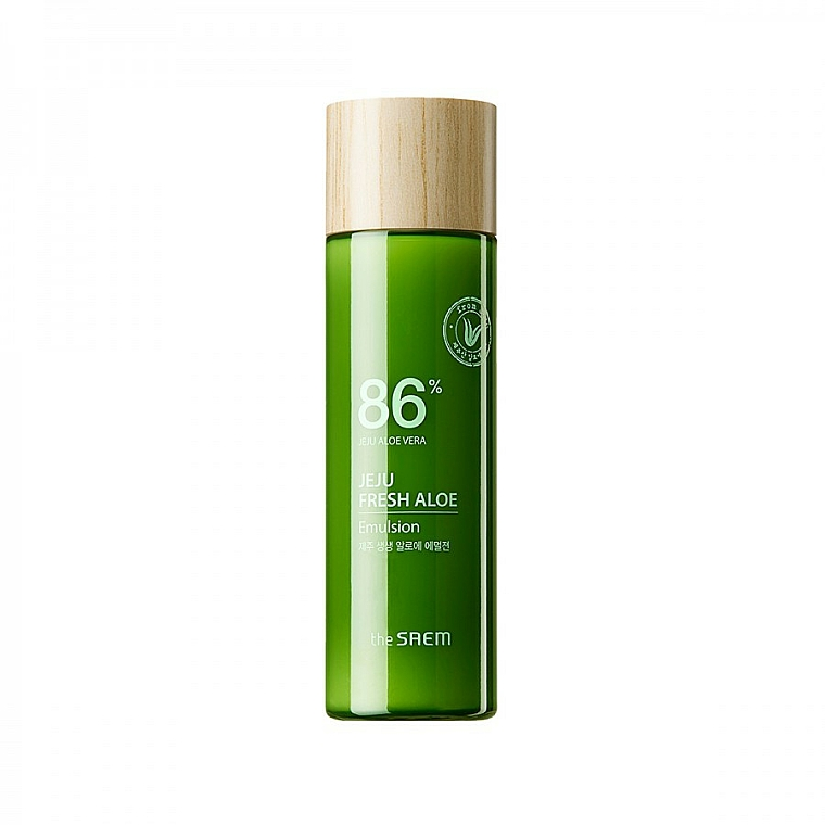Emulsión facial de aloe vera - The Saem Jeju Fresh Aloe Emulsion