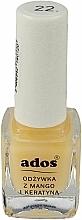 Perfumería y cosmética Acondicionador para uñas con queratina y mango - Ados