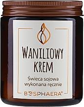 Perfumería y cosmética Vela aromática de soja, Crema de Vainilla - Bosphaera Vanilla Cream Candle