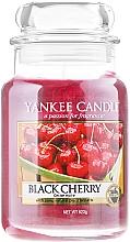 Perfumería y cosmética Vela aromática en tarro de cristal, cereza negra - Yankee Candle Scented Votive Black Cherry