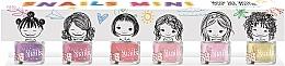 Perfumería y cosmética Set esmalte de uñas infantil, lavable y no tóxico - Snails Mini Bebe (6uds.x7ml)