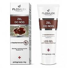 Perfumería y cosmética Gel para pies con extracto de castaña y pantenol - Floslek Foot Gel