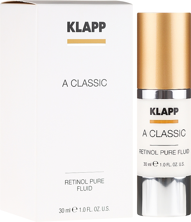 Emulsión facial con retinol - Klapp A Classic Retinol Pure Serum