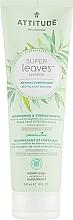 Perfumería y cosmética Acondicionador para cabello con hojas de olivo y aceite de semilla de uva - Attitude Conditioner Nourishing & Strengthening Grape Seed Oil & Olive Leaves