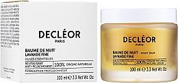 Crema de noche rejuvenecedora con aceite esencial de iris - Decleor Aromessence Iris Rejuvenating Night Balm — imagen N2