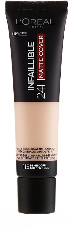 Base de maquillaje - L'Oreal Paris Infaillible 24H Matte Cover