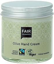 Perfumería y cosmética Crema de manos de oliva sin parabenos - Fair Squared Olive Hand Cream