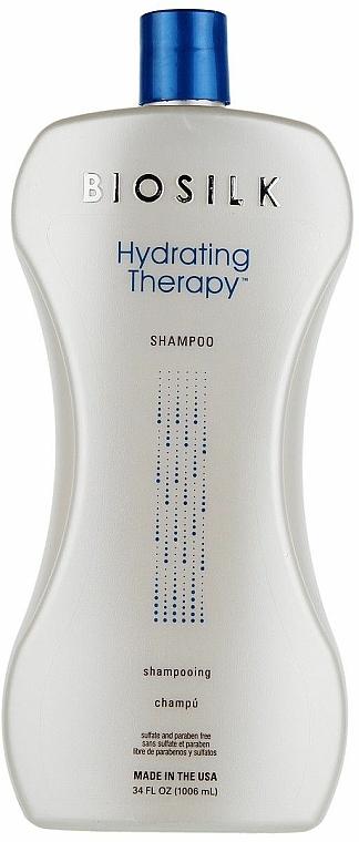 Champú hidratante con extracto de lavanda y menta - BioSilk Hydrating Therapy Shampoo