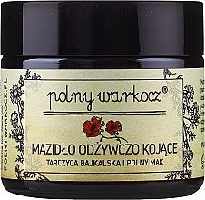 Perfumería y cosmética Crema facial con extracto de scutelaria y aceite de amapola - Polny Warkocz Nourishing Soothing