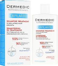 Perfumería y cosmética Champú regenerador con extracto de células madre de manzano y albahaca real - Dermedic Capilarte Shampoo