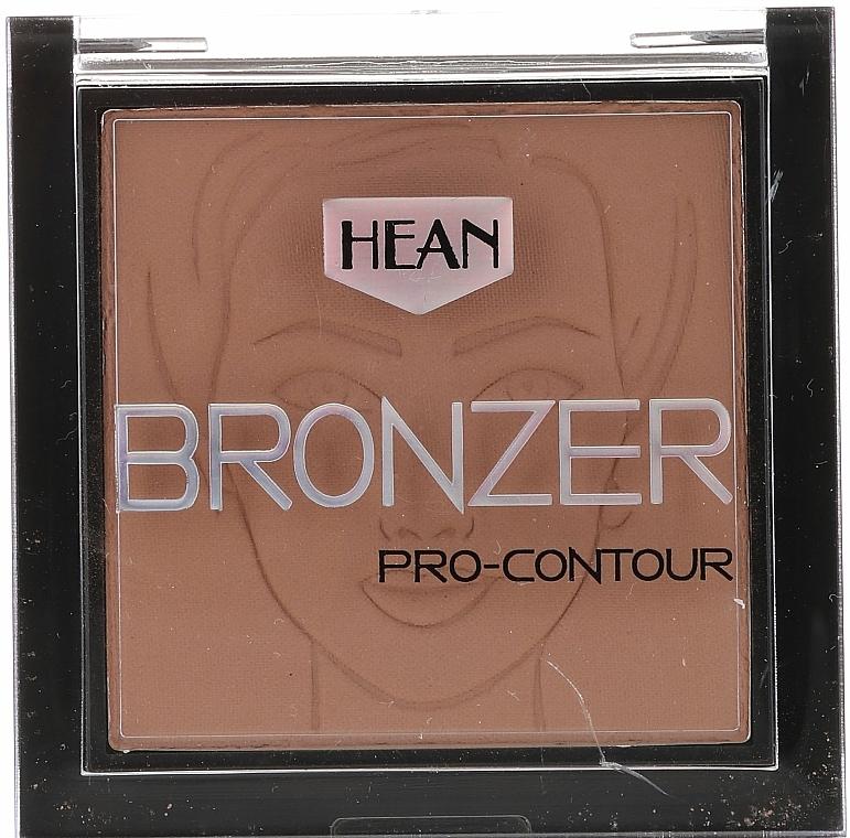 Polvo bronceador facial - Hean Pro-contour Bronzer