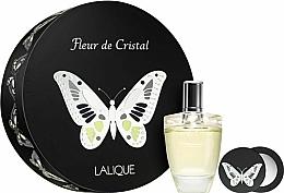 Perfumería y cosmética Lalique Fleur de Cristal - Set (eau de parfum/100ml + espejo compacto)