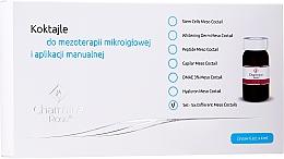 Perfumería y cosmética Set tratamiento para mesoterapia con aguajas y aplicación manual - Charmine Rose Six Different Meso Coctail (6uds.x4ml)