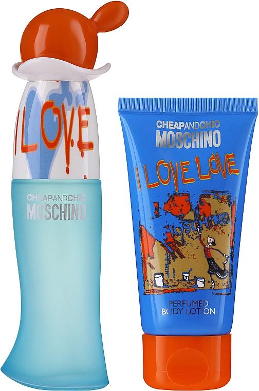 Moschino I Love Love - Set (eau de toilette/30ml + loción corporal/50ml)