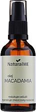 Perfumería y cosmética Aceite de macadamia anticelulítico - NaturalME (con vaporizador)